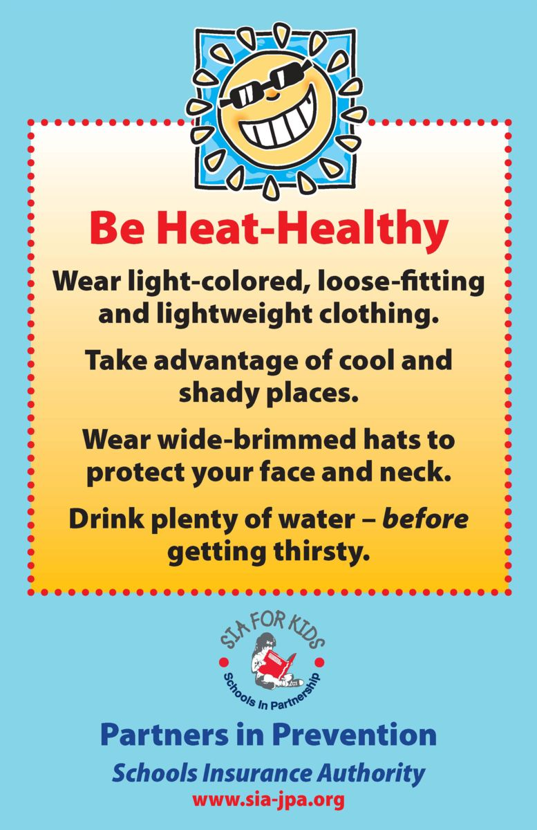 Be Heat-Healthy poster thumbnail